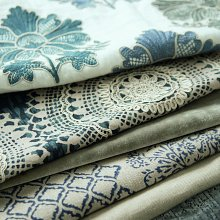 Fabric available at Pin Cushion Interiors